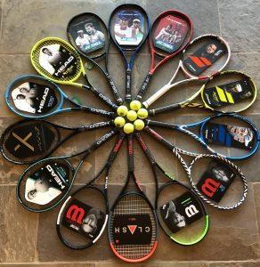 Advantage Tennis Foto Racket Testdag